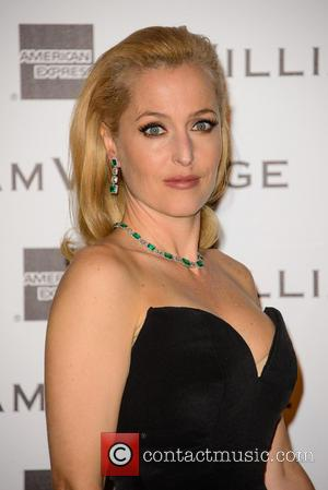 Gillian Anderson - 3rd Annual WilliamVintage dinner held at St. Pancras Hotel - Arrivals - London, United Kingdom - Friday...