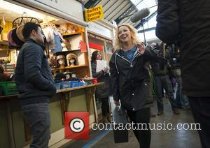 Charlotte Church - Charlotte Church records a music video for her single 'Little Movements' in Cardiff - Cardiff, United Kingdom...