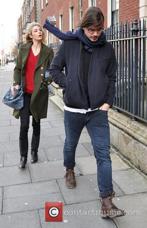 Josh Hartnett and Tamsin Egerton - Josh Hartnett and girlfriend Tamsin Egerton visit The Merrion Hotel Dublin. The couple were...