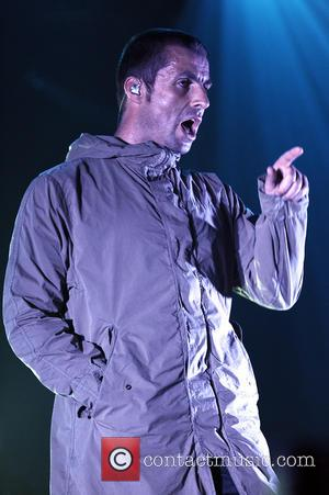 Liam Gallagher - Liam Gallagher of Beady Eye performs on stage at the Live club on February 15, 2014 in...