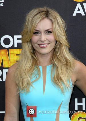 Lindsey Vonn - Cartoon Network's Hall of Game Awards at The Barker Hangar - Arrivals - Los Angeles, California, United...