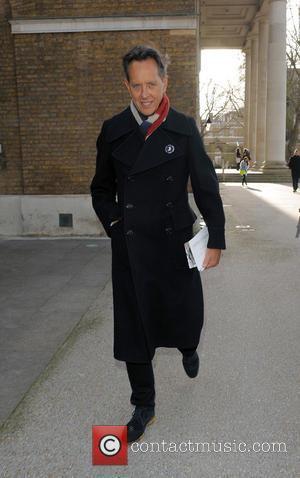 Richard E. Grant - LFW a/w 2014 - Jasper Conran - Outside Arrivals - London, United Kingdom - Saturday 15th...