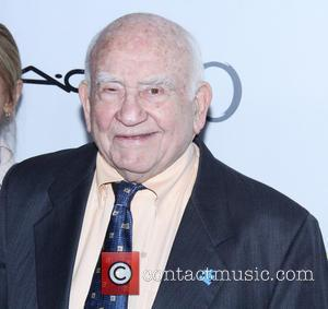 Ed Asner - The Annual Make-Up Artists And Hair Stylists Guild Awards - Los Angeles, California, United States - Saturday...