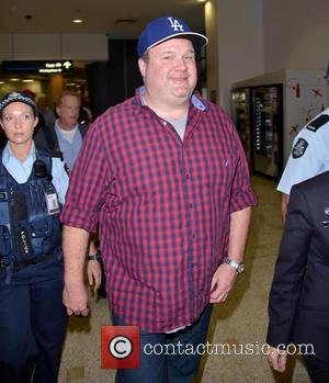 Eric Stonestreet - 'Modern Family' Eric Stonestreet sports a Los Angeles Dodgers hat as he arrives at Sydney Airport -...