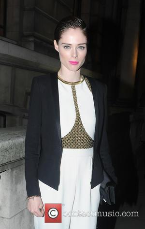 Coco Rocha - Canadian Supermodel Coco Rocha seen out and about at the Matthew Williamson fashion show in Whitehall. -...