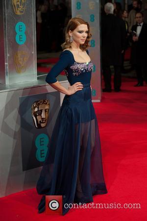 Lea Seydoux - EE British Academy Film Awards (BAFTA) held at the Royal Opera House - Arrivals. - London, United...
