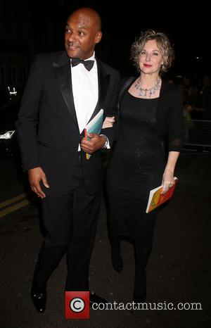 Colin Salmon - EE British Academy Film Awards (BAFTA) after party at Grosvenor House - Arrivals - London, United Kingdom...