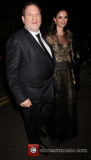 Harvey Weinstein and Georgina Chapman - EE British Academy Film Awards (BAFTA) after party at Grosvenor House - Arrivals -...