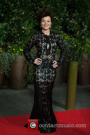 Helen McCrory - EE British Academy Film Awards (BAFTA) after-party held at the Grosvenor House - Arrivals. - London, United...