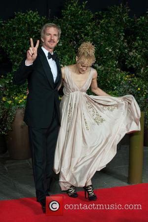 Matthew Modine and Caridad Rivera