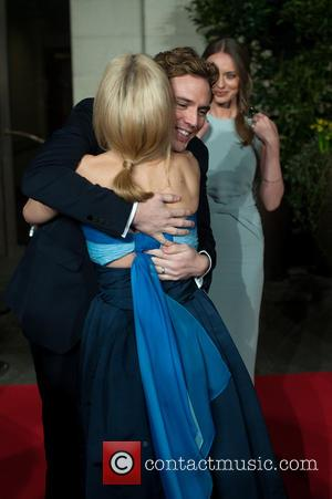 Sam Claflin, Gillian Anderson and Laura Haddock