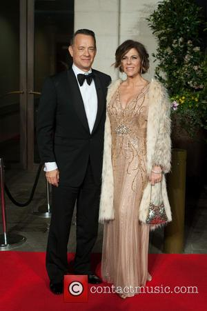 Tom Hanks and Rita Wilson - EE British Academy Film Awards (BAFTA) after-party held at the Grosvenor House - Arrivals....