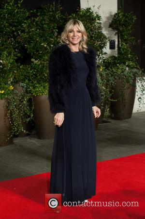 Zoe Ball - EE British Academy Film Awards (BAFTA) after-party held at the Grosvenor House - Arrivals. - London, United...