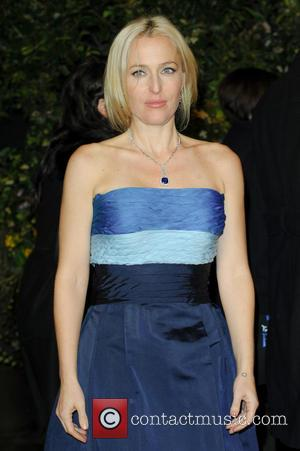 Gillian Anderson - EE British Academy Film Awards 2014 (BAFTA) - Afterparty - London, United Kingdom - Sunday 16th February...