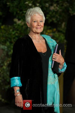 Dame Judi Dench - EE British Academy Film Awards (BAFTA) after-party held at the Grosvenor House - Arrivals. - London,...