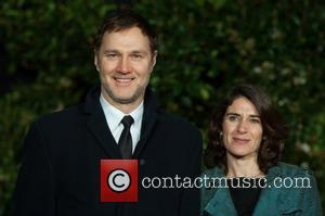 David Morrissey and Guest - EE British Academy Film Awards (BAFTA) after-party held at the Grosvenor House - Arrivals. -...