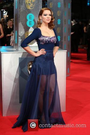Lea Seydoux - British Academy Film Awards (BAFTA) 2014 held at the Royal Opera House - Arrivals - London, United...