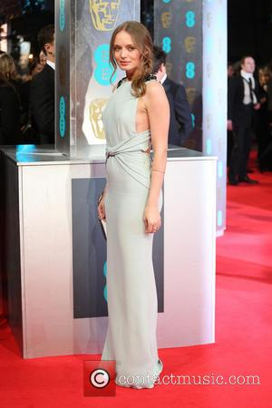 Laura Haddock - British Academy Film Awards (BAFTA) 2014 held at the Royal Opera House - Arrivals - London, United...