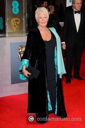 Dame Judi Dench - EE British Academy Film Awards (BAFTA) 2014 held at the Royal Opera House - Arrivals -...