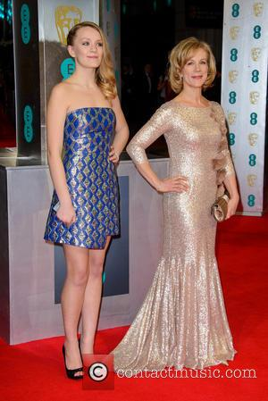 Juliet Stevenson - EE British Academy Film Awards (BAFTA) 2014 held at the Royal Opera House - Arrivals - London,...
