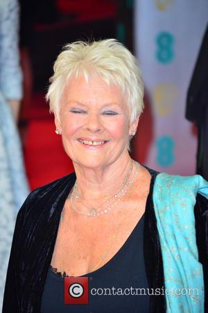 JUDY DENCH - EE British Academy Film Awards (BAFTA) 2014 held at the Royal Opera House - Arrivals - London,...