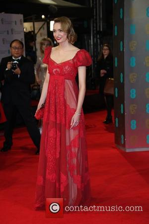 Eleanor Tomlinson - EE British Academy Film Awards (BAFTA) 2014 held at the Royal Opera House - Arrivals - London,...