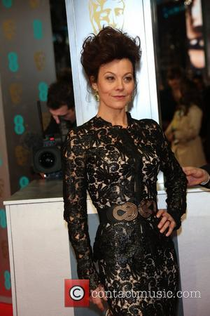 Helen McCrory - EE British Academy Film Awards (BAFTA) 2014 held at the Royal Opera House - Arrivals - London,...