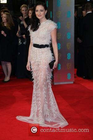 Lara Pulver - EE British Academy Film Awards (BAFTA) 2014 held at the Royal Opera House - Arrivals - London,...