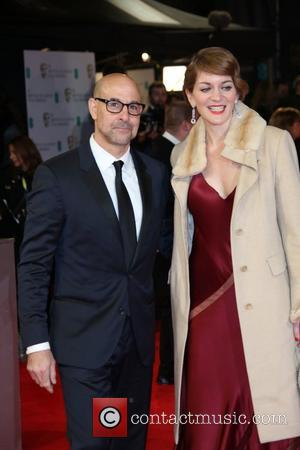 Stanley Tucci and Felicity Blunt - EE British Academy Film Awards (BAFTA) 2014 held at the Royal Opera House -...