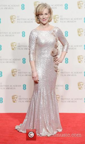 Juliet Stevenson - EE British Academy Film Awards (BAFTA) 2014 held at the Royal Opera House - Pressroom - London,...