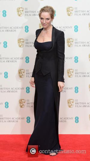 Uma Thurman - EE British Academy Film Awards (BAFTA) 2014 held at the Royal Opera House - Pressroom - London,...