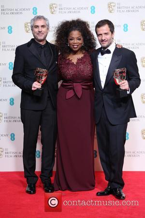 Oprah Winfrey, Alfonso Cuaron and David Heyman