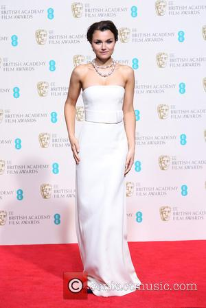 Samantha Barks - British Academy Film Awards (BAFTA) 2014 held at the Royal Opera House - Press Room - London,...