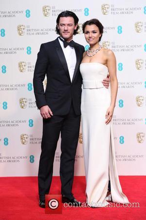 Samantha Barks and Luke Evans