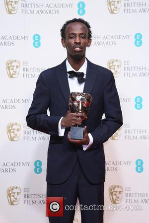 Barkhad Abdi - British Academy Film Awards (BAFTA) 2014 held at the Royal Opera House - Press Room - London,...