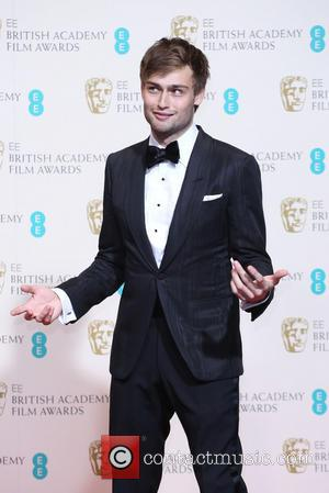 Douglas Booth - British Academy Film Awards (BAFTA) 2014 held at the Royal Opera House - Press Room - London,...
