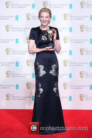 Cate Blanchett - British Academy Film Awards (BAFTA) 2014 held at the Royal Opera House - Press Room - London,...