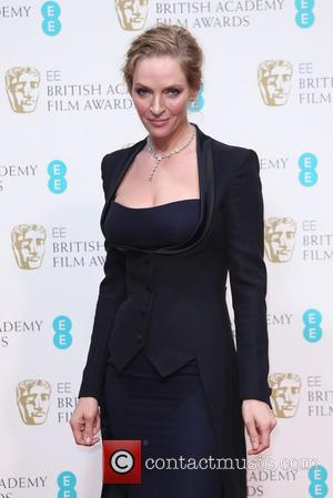 Uma Thurman - British Academy Film Awards (BAFTA) 2014 held at the Royal Opera House - Press Room - London,...