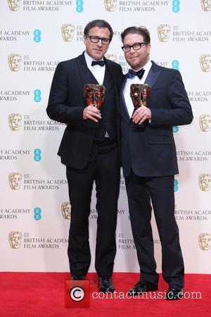 David O. Russell and Eric Warrensinger - British Academy Film Awards (BAFTA) 2014 held at the Royal Opera House -...