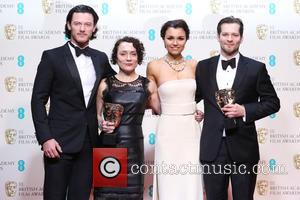 Luke Evans, Samantha Barks, Sophie Venner and James W. Griffiths