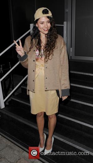 Eliza Doolittle - London Fashion Week Autumn/Winter 2014 - Vivienne Westwood - Departures - London, United Kingdom - Sunday 16th...