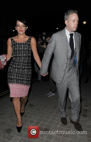 Lily Allen and Sam Cooper