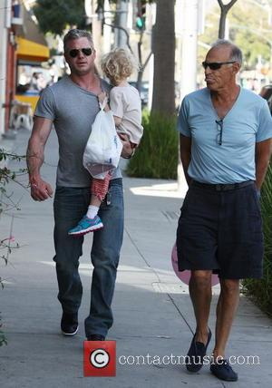 Eric Dane and Billie Beatrice Dane - Eric Dane out and about with his daughter, Billie in Beverly Hills -...