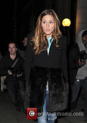 Olivia Palermo - London Fashion Week Autumn/Winter 2014 - Matthew Williamson - London, United Kingdom - Sunday 16th February 2014