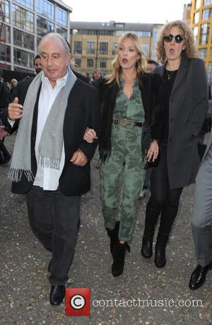 Sir Phillip Green and Kate Moss