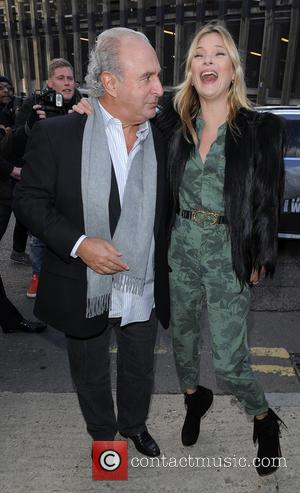 Kate Moss and Phillip Green