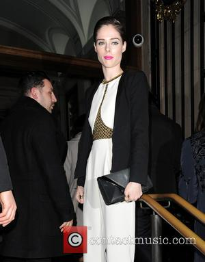 Coco Rocha - Celebraties arriving to view Matthew Williamson Autumn and Winter Collection fashion show. - London, United Kingdom -...