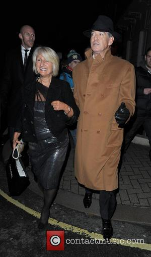 Pierce Brosnan - Pierce Brosnan walking in Mayfair with a female companion - London, United Kingdom - Sunday 16th February...