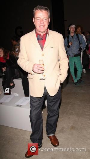 Suggs and Graham McPherson - London Fashion Week Autumn/Winter 2014 - Ashish - Front Row - London, United Kingdom -...