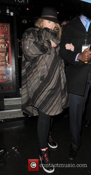 Adele Adkins - Adele leaving a Prince gig at the famous Ronnie Scott's Jazz Club in Soho, London - London,...